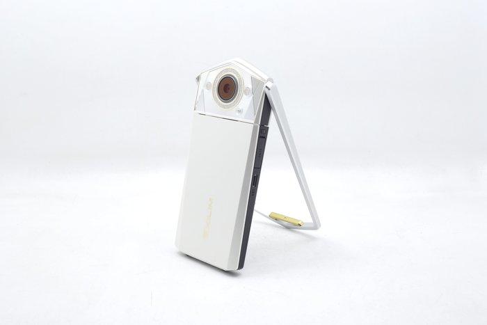 【台中青蘋果】Casio TR80 TR-80 白 自拍神器 二手 數位相機 #36891