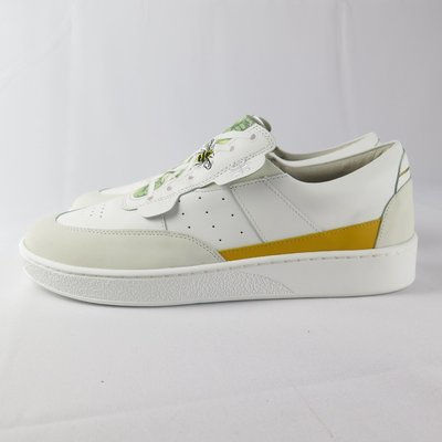 Royal Pastor 無鞋帶 休閒鞋 公司貨 01893043 男款 白X小蜜蜂 附鞋墊【iSport愛運動】