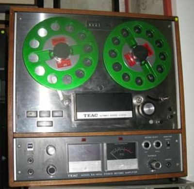 日本TEAC A4010S open reel recorder 開盤式錄音機,6成半新,操作完美。