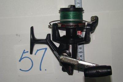 采潔 日本二手外匯釣具SHIMANO 5000型日本製 大型遠投捲線器二手釣具 中古釣竿 捲線器 編號R57
