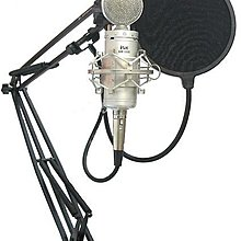 ISK BM-5000 高階專業級電容麥克風+網子+48v幻象電源+2條卡農線送166種音效