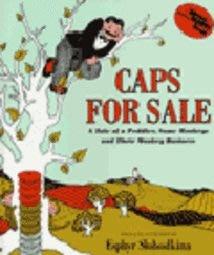 *小貝比的家*CAPS FOR SALE (賣帽子) /平裝+JYCD/3-8歲