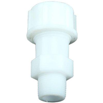 淘趣管件-水管活接頭灌溉pe水管速接管件白色速接頭外絲直接內絲管件4分6分(選項不同價格不同) 嘉義市