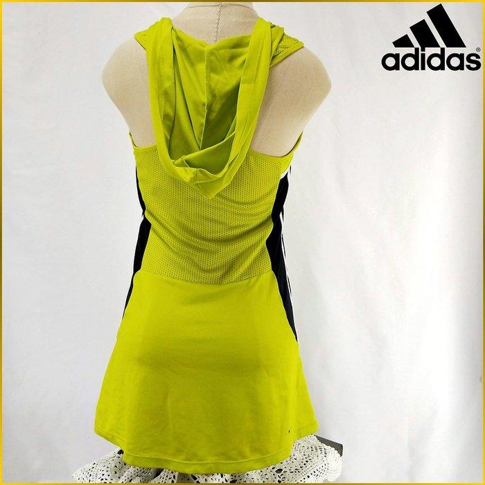 日本二手衣✈️adidas 運動慢跑 無袖背心 排汗衫 連帽 長版運動上衣 ADIDAS 愛迪達 運動女裝 A0217A