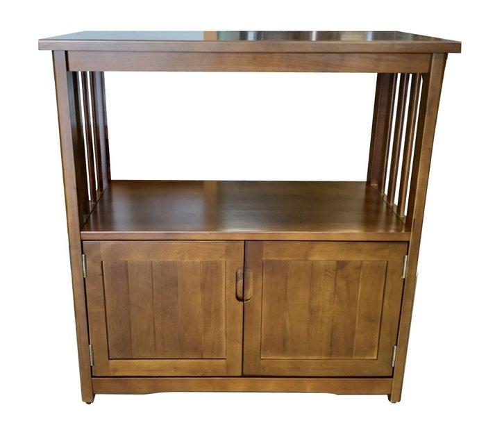 台中二手家具 二手家電推薦滿千送百 EA1011BA*全新豐悅實木電器櫃 櫥櫃*碗盤收納櫃 置物架 餐桌椅 電視櫃 書櫃