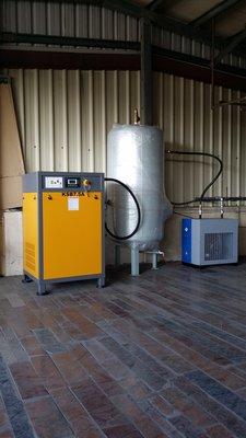 螺旋式空壓機10HP靜音節能型