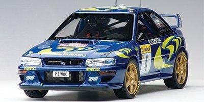 AUTOart 1/18 速霸陸 IMPREZA WRC 1997 #4 PIERO LIATTI/FABRIZIAP