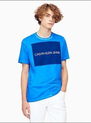CK Calvin Klein Jeans 短袖 T恤 現貨 四方格 LOGO