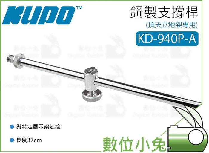 數位小兔【KUPO KD-940P-A 頂天立地架 專用 37cm 鋼製支撐桿】延長桿 延伸架 延伸桿 固定臂 支撐架