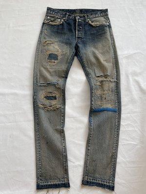 【寶藏屋】 Undercover 68 Denim Blue Yarn 牛仔褲 牛王 藍線 1號 S號