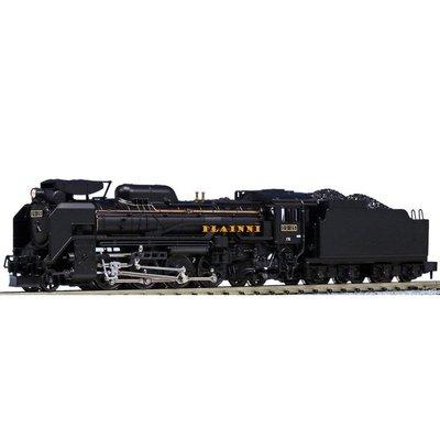 【PLAINNI】 N規 KATO 2016-6 D51 標準形 長野式集煙附裝置 蒸汽車頭 (全新盒裝) 蒸氣火車 火車頭 蒸氣機關車