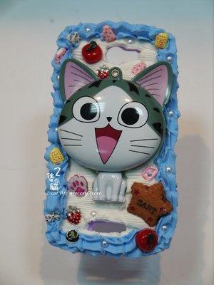 *2隻貓_獨家手創**奶油殼/手機殼**iphone HTC **可愛貓咪/手拿鏡款**生日禮物/情人節禮物