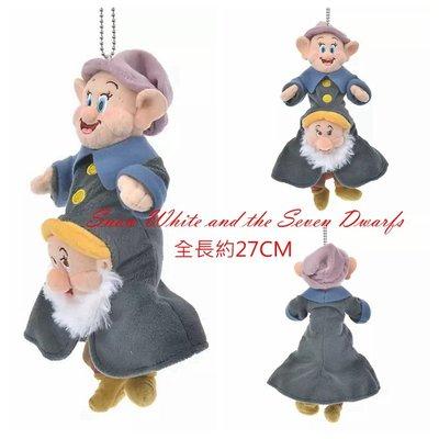 預購☆汪將☆日本迪士尼 snow white 白雪公主 七小矮人 小鳥 布偶吊飾 珠鍊吊飾