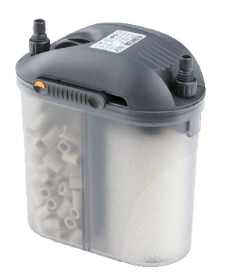 魚樂世界水族專賣店# 義大利製 伊登 外置圓桶過濾器 EDEN 501 300L/H 原廠保固三年