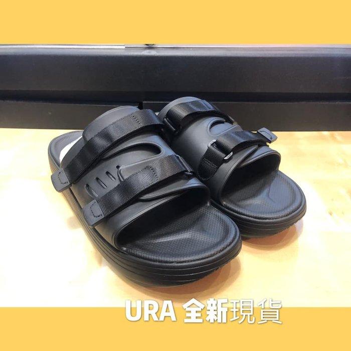【URA 全新現貨】2019 SUICOKE 全黑 全防水 軟膠系列 休閒拖鞋