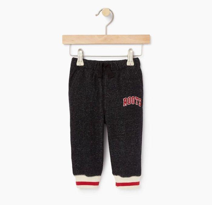~☆.•°莎莎~*~☆~~加拿大ROOTS Baby Roots Cabin Sweatpant 寶寶棉褲