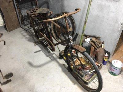 天馬牌古董腳踏車