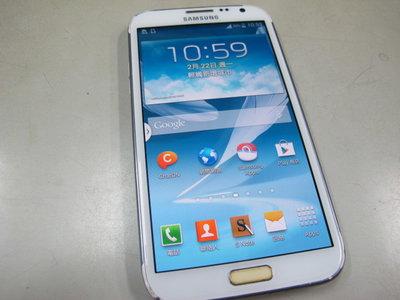 二手舖 NO.6373 三星 SAMSUNG NOTE 2 GT-N7100 二手手機 備用機