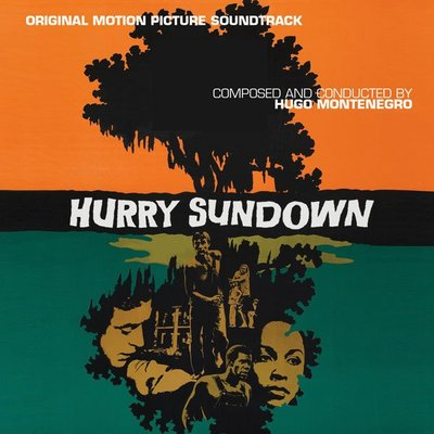 """夜幕降臨時 Hurry Sundown-2CD""- Hugo Montenegro,全新美版,H26"