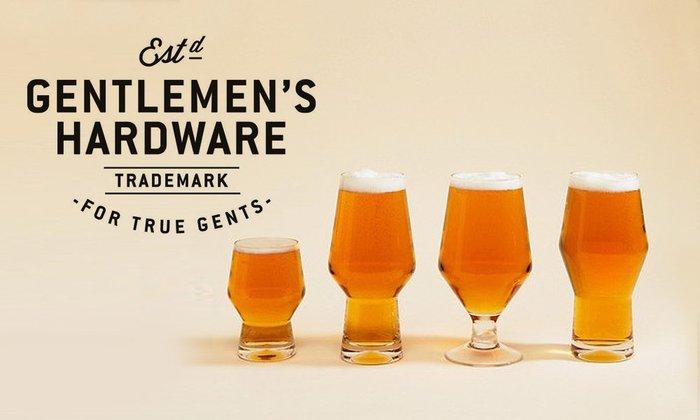GOODFORIT / 英國Gentlemen's Hardware  Beer Glasses 精釀啤酒專用杯組
