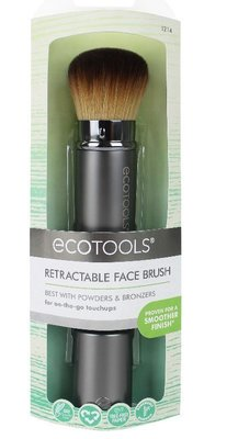 【愛來客 】美國新款EcoTools Retractable Kabuki#1214伸縮便攜式 化妝刷 粉底刷 腮紅刷