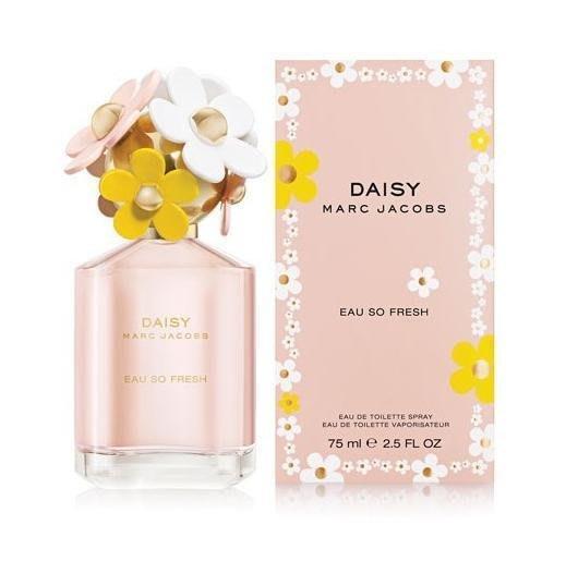 Marc Jacobs DAISY EAU SO FRESH 清甜雛菊 女性淡香水 75ML✪棉花糖美妝香水✪