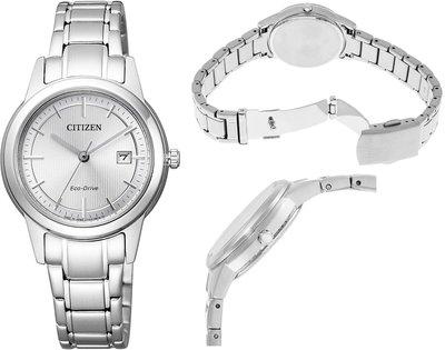 日本正版 CITIZEN 星辰 FE1081-67A 光動能 手錶 女錶 日本代購