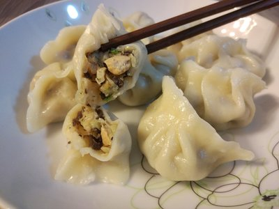 【蔬食久久屋】 獨家自製【白菜豆腐(含蛋)-香菇時蔬餃】50顆 , 簡單的食材讓您吃出不簡單的味道