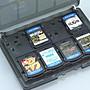 PSVita PSV 18合1卡帶盒/收納盒/卡匣盒/卡盒 記憶卡x4+卡帶x14 直購價100元 桃園《蝦米小鋪》
