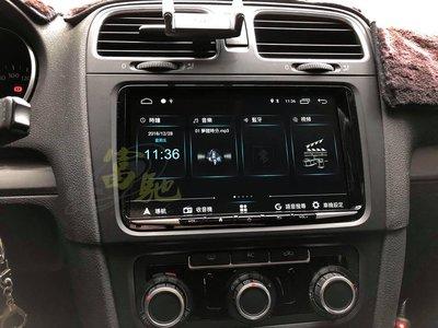富馳汽車音響 福斯Golf6代音響改裝JHY M3 PRO版 Golf專用9吋安卓導航影音主機
