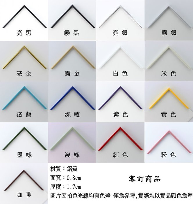 鋁框 訂製商品 49.3*69.3cm 升級最強版 搭配業界最厚1.8mm抗氧化性面板用框