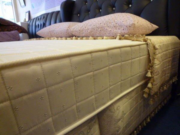 ※高雄~專業睡眠館※經濟型2線6環獨立筒床墊加大6*6.2尺4400~雙ISO國際品質認證(市價3成)