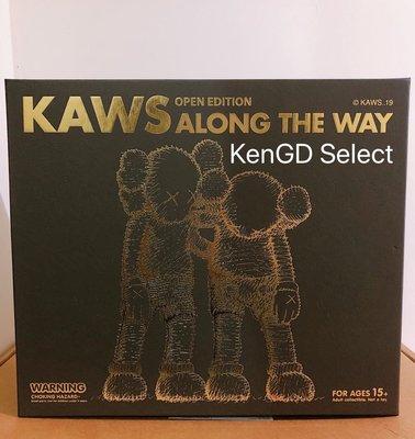 【KenGD Select 】 Kaws Along the way 黑色 台中可面交