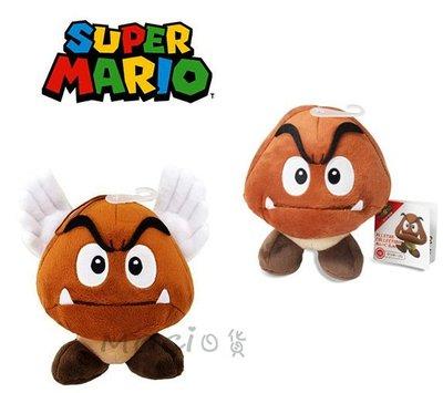 日本正版 超級瑪莉歐 栗寶寶 壞香菇 蘑菇 栗子 瑪莉兄弟 娃娃 玩偶 公仔 S 任天堂 瑪利歐【MOCI日貨】