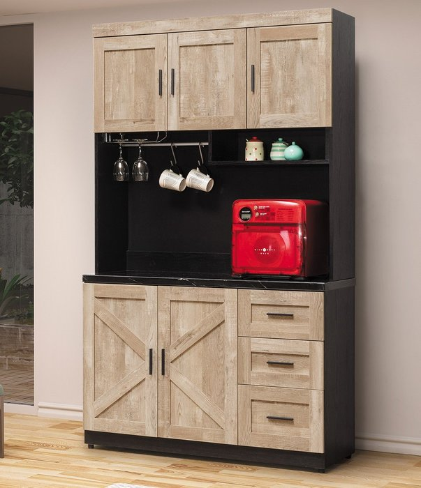 里斯本 石面4尺餐櫃  👍台灣製造👍另有系列家具😊暖暖屋傢俱傢飾😊
