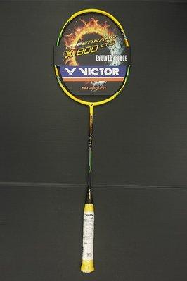 (台同運動活力館) VICTOR 勝利 HYPERNANO X 800LTD-C (HX-800LTD-C) 羽球拍