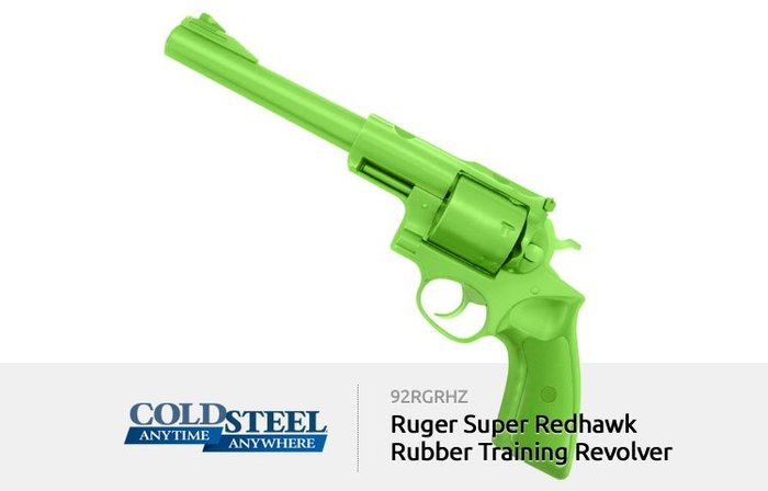 【angel 精品館 】COLD STEEL Ruger Super Redhawk左輪模型訓練 (亮綠色) 92RG