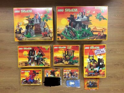 全新 未開封 正品 全套 Full Set Lego System 6082 6076 6056 6048 6043 6020 1906 1746