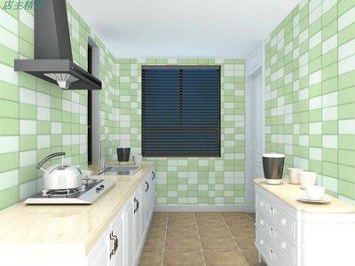 廚房防油貼紙瓷磚翻新自粘墻貼耐高溫灶臺加厚防水馬賽克墻貼壁紙