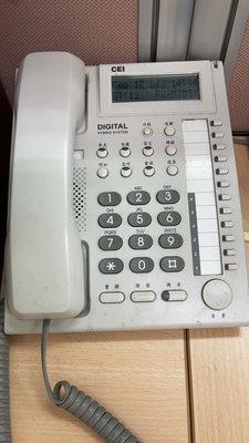 萬國總機系統 FX-MIDI 第3代 + DIGITAL hybrid system話機4台