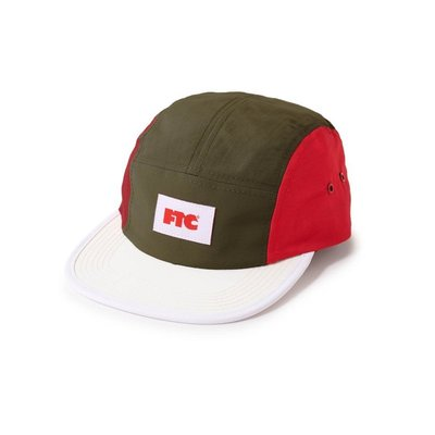FTC - Color Blocked  Nylon Camp Cap 老帽 現貨販售