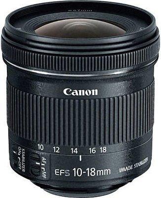 九晴天  租鏡頭 租相機 出租~Canon EF-S 10-18mm  f4.5-5.6 IS STM
