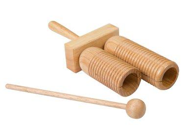 【晴晴百寶盒】台灣製造 木魚高低款 木魚音樂 敲打樂器 益智遊戲 高品質 樂器送禮禮物禮品 創意兒童早教 W113