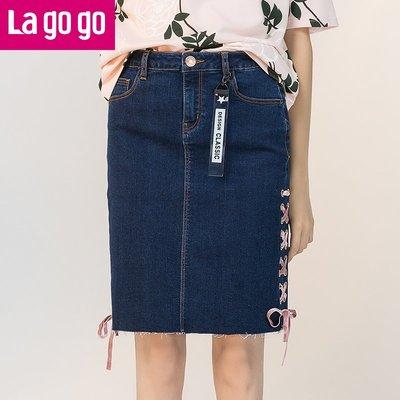 綁帶洋裝 正韓版Lagogo2018年...