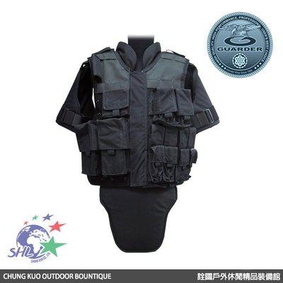 詮國 - GUARDER 警星 美國SWAT特警背心 / 黑色 / GUARDER-06C(BK)