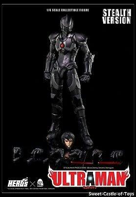 Threezero 3A Ultraman Suit 咸蛋超人 Stealth Ver. Manga Shinjiro 1/6 figure 潛行版 早田進次郎