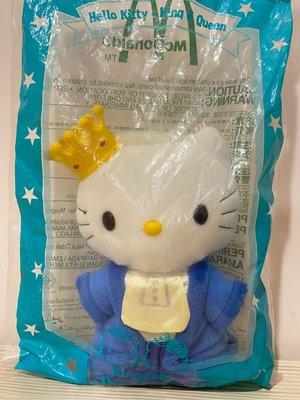 2000年麥當勞絕版珍藏品  Hello kitty 情定夢幻國 皇冠👑超級美的 全新未拆封