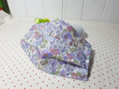 手作~日本棉布~粉紫色小花~口罩套~適用醫療口罩更換(成人)