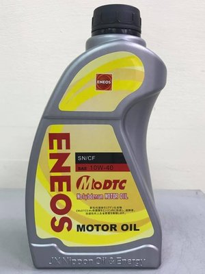 【小皮機油】ENEOS Molybdenum 10W40 10W-40 液態鉬 SHELL AGIP ENI 嘉實多