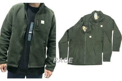 【RACE】CARHARTT YORKLYN MOCK NECK 外套 羊羔外套 夾克 搖粒絨 羊羔絨 立領 工裝 軍綠